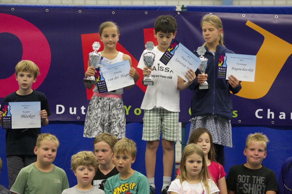 Miguel Angel Champion D group (U10)