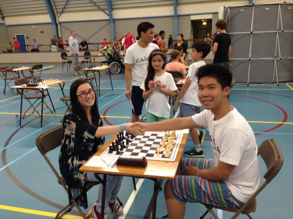 Fong Li and Melvin in round 1